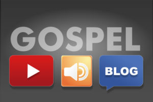 Gospel and Youtube, mp3 and blog icons
