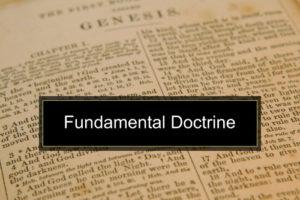 Fundamental Doctrine